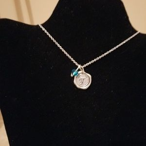 Miranda's Paparazzi Style Jewelry - Gold Necklace with Initial P Charm